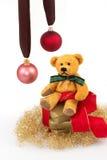 Cadeau 7 de Noël photos libres de droits