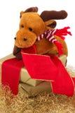 Cadeau 8 de Noël Images libres de droits