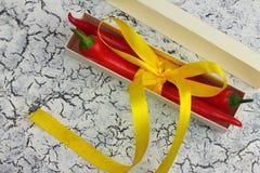 Cadeau avec l'amertume Image stock