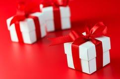 Cadeau Boxes Images libres de droits