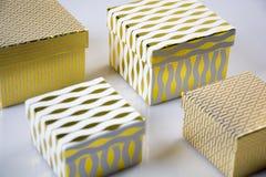 Cadeau Boxes Image libre de droits