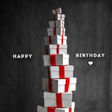 Cadeau Boxes Photo stock