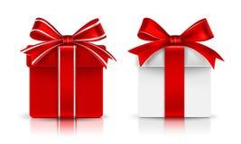 Cadeau Boxes Vecteur Photographie stock libre de droits