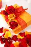 Cadeau décoré Photo libre de droits