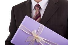 Cadeau d'affaires Photographie stock libre de droits