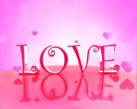 Cadeau d'amour Illustration Libre de Droits