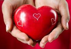 Cadeau d'amour Photographie stock libre de droits