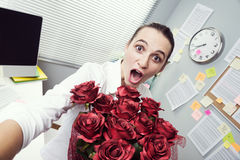 Cadeau d'amour Image libre de droits