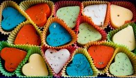 Cadeau d'amour de fromage Images libres de droits