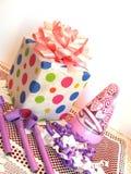 Cadeau d'anniversaire Image stock