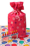 Cadeau d'anniversaire ou cadeau Images libres de droits