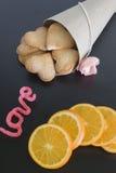 Cadeau de biscuit Photo libre de droits