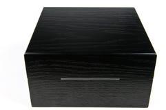 cadeau de boîte noire Image stock