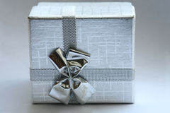 cadeau de cadre Photographie stock