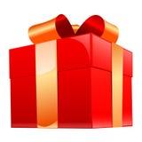 cadeau de cadre Photo libre de droits
