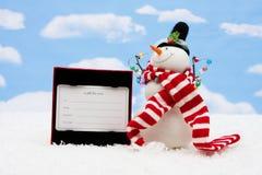 cadeau de carte Photo stock