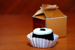 Cadeau de chocolat photographie stock