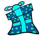 Cadeau de Christtmas de Cyber illustration libre de droits