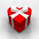 Cadeau de coeur Images libres de droits