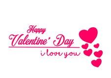 Cadeau de couples d'amour de Saint Valentin Image libre de droits