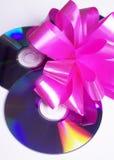 cadeau de disque images libres de droits
