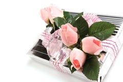 Cadeau de fleur Photos stock
