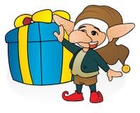Cadeau de gnome Photo stock