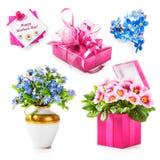 Cadeau de jour de mères Images libres de droits