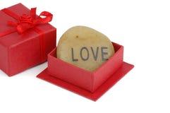 Cadeau de l'amour Photographie stock