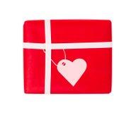 Cadeau de l'amour Photographie stock libre de droits