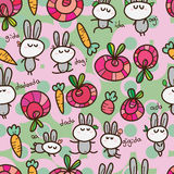 Cadeau de langue de lapin sans couture Photos libres de droits