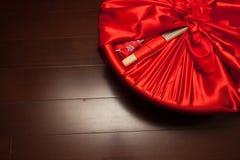 Cadeau de mariage chinois Photographie stock