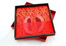 Cadeau de mariage de peigne Photographie stock