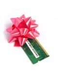 Cadeau de module de mémoire de mémoire vive Image stock
