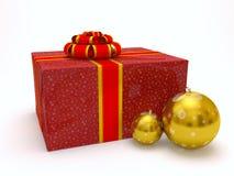 Cadeau de Noël Photos stock