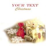 Cadeau de Noël Image stock