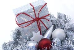 Cadeau de Noël. Photos stock