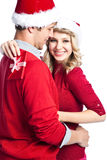 Cadeau de Noël de surprise Photos libres de droits