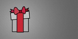 Cadeau de Noël de vecteur Image stock
