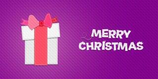 Cadeau de Noël de vecteur illustration libre de droits