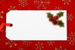 Cadeau de Noël Photo stock