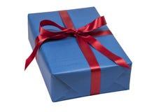 Cadeau de Noël d'isolement Photographie stock libre de droits