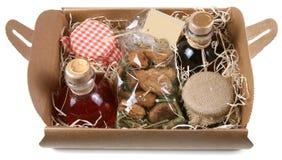 Cadeau de nourriture Image libre de droits