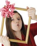 Cadeau de Poisson-visage Images stock