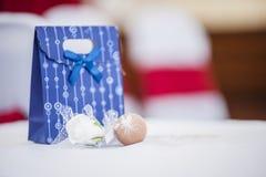 Cadeau de porte de mariage Photo stock