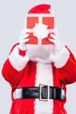 Cadeau de Santa Photographie stock libre de droits