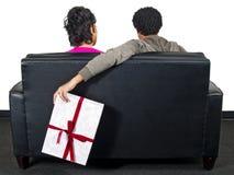 Cadeau de surprise Image libre de droits