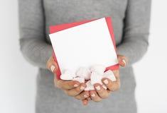 Cadeau de symbole de signe de conception d'amour Photo stock