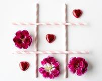 Cadeau de symbole de signe de conception d'amour Photographie stock libre de droits
