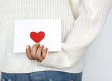 Cadeau de symbole de signe de conception d'amour Photographie stock